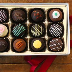 12 Pc Chocolate Truffle Assortment
