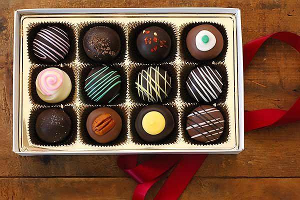 12 Pc Chocolate Truffle Assortment