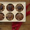 6 Piece Assorted Chocolate Turtles