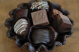 Chocolate bowl of Chocolates