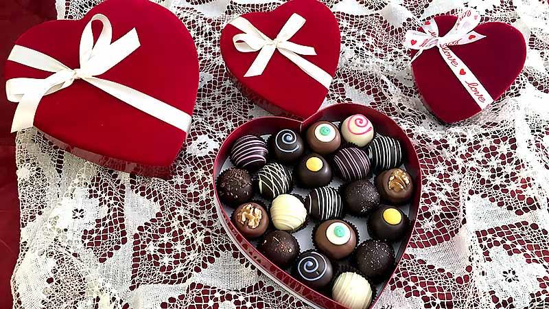 Valentines Day Truffles