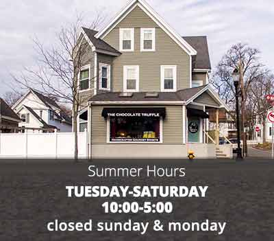 Chocolate Truffle Summer Hours 2019