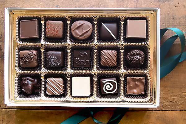 15 piece gluten free chocolates