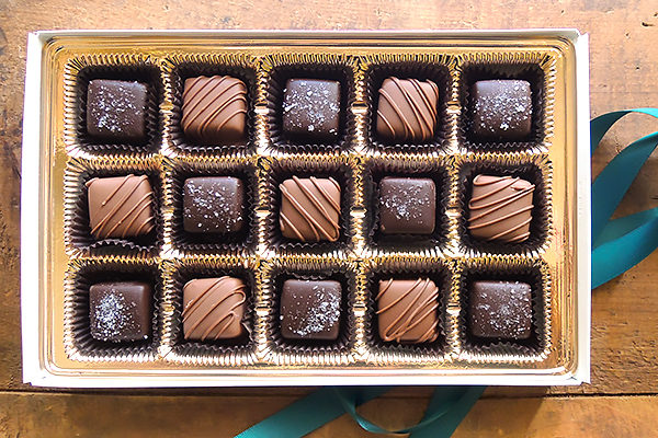 15pc gluten free caramels