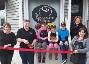 The Chocolate Truffle, RIbbon Cutting