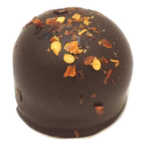 Cinnamon Chili Pepper Dark Chocolate Truffle