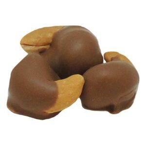 Cashews 1/2 Dipped in Milk Chocolate