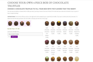Build Your Box of Truffles