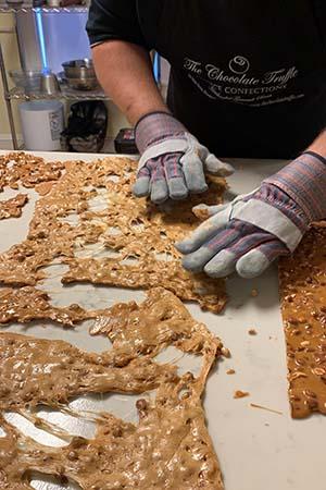 Hand Made Peanut Brittle